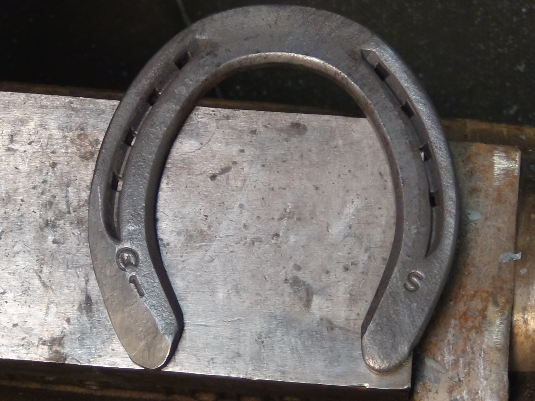 Farrier modifications of horseshoes farrier product for Where to buy used horseshoes