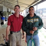 Farriers Burr Vandewart and Nahum Banderas