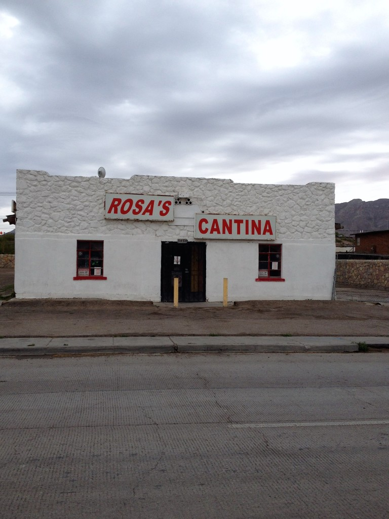 The famous (Marty Robbins) Rosa's Catina