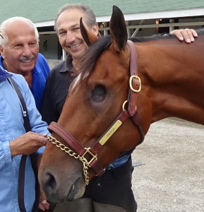 Ray Amato Sr. and Ray Amato Jr. with Patch