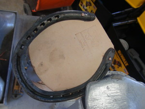 Kerckhaert Half Swedge with leather pad