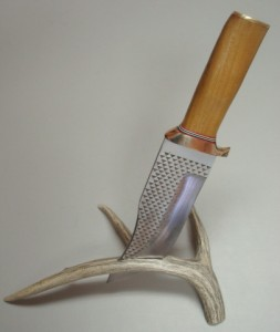 forged knife blade