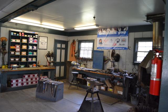 Farrier shop in Kentucky