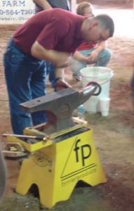 Farrier contest