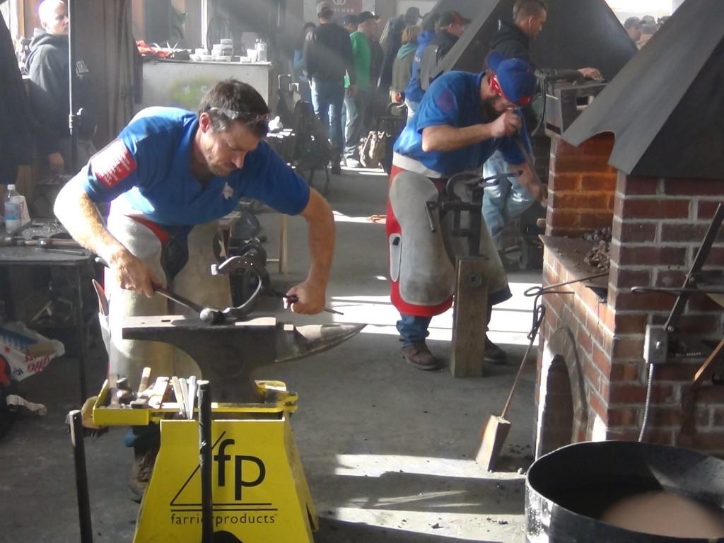 anvil work