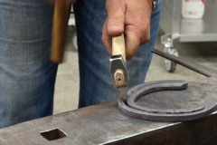Using-a-Bloom-Forge-creaser-to-put-in-a-traction-modification-fullering-the-toe